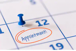why do you need an appointment scheduled to submit your visa application